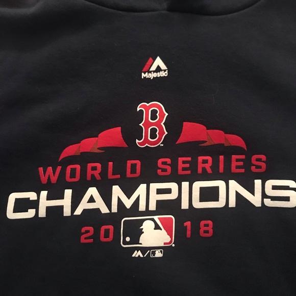 official photos 9cb76 7257e Boston Red Sox World Series 2018 Sweatshirt